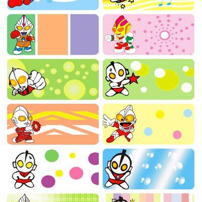 6003 - Sticker vải đa sắc là (ủi) vào quần áo hình siêu nhân
