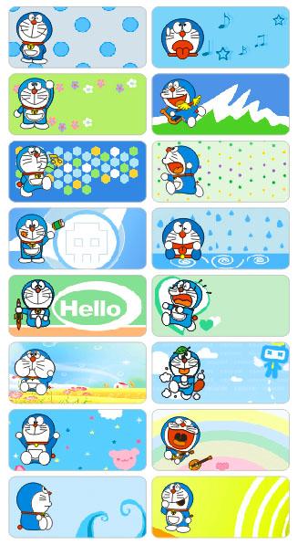 6011 – Sticker là (ủi) vào quần áo hình Doraemon