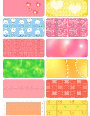 6012 - Sticker là (ủi) vào quần áo Multi colors
