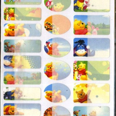 T011 - Gấu Pooh